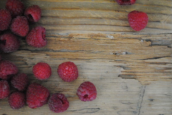 Raspberries by the sensualist