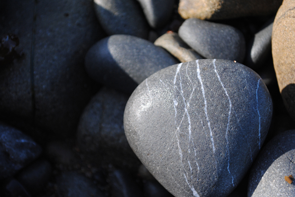 Stones by the sensualist