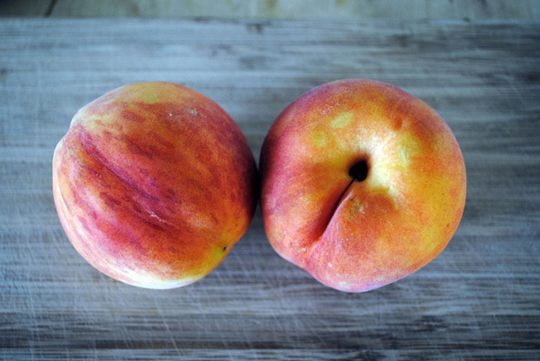 Peaches by the sensualist