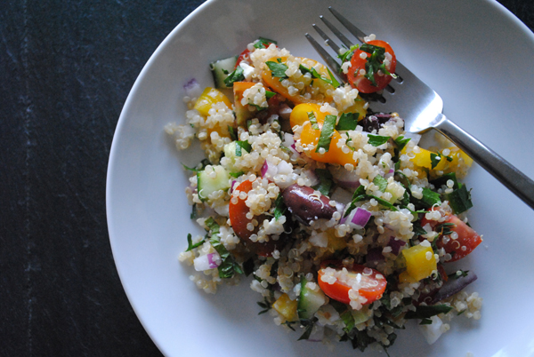 Quinoa salad by the sensualist