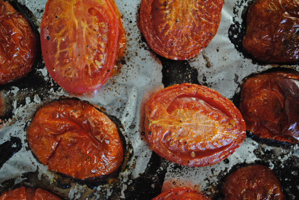 Roasted tomatoes by the sensualist